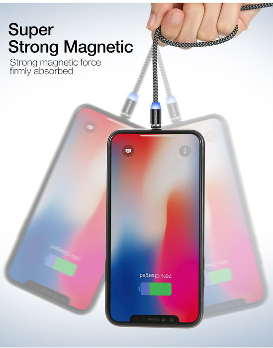 CTEMS Magnetic Fast Charging Cable - iphone