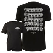 Repeat Chain Rear T-shirt - Dirt Industries - Motocross Offroad Casual Clothes