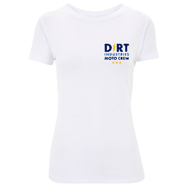 Womens Moto Crew T-Shirt - Dirt Industries