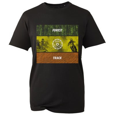 Forest & Track T-Shirt - Youth - Dirt Industries - Motocross Offroad Casual Clothes