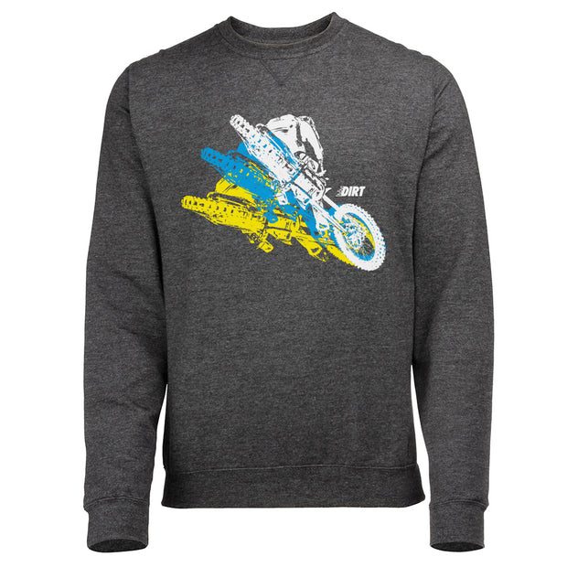 Whip Motion Sweatshirt - Dirt Industries - Motocross Offroad Casual Clothes