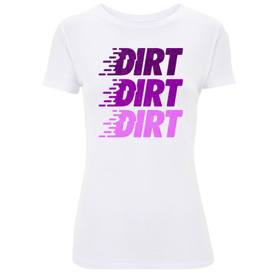 Womens Logo Stack T-Shirt - Dirt Industries