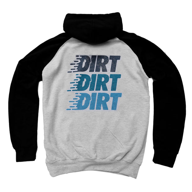 Logo Stack Hoodie - Dirt Industries - Motocross Offroad Casual Clothes