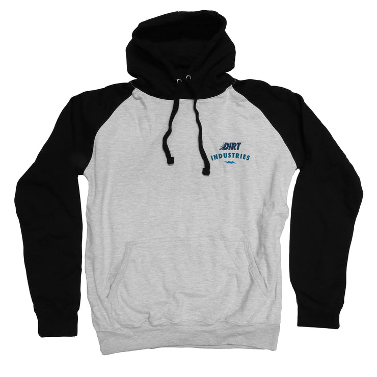 Logo Stack Hoodie - Youth - Dirt Industries - Motocross Offroad Casual Clothes