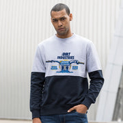 MX Cockpit Panelled Sweatshirt - Dirt Industries - Motocross Offroad Casual Clothes