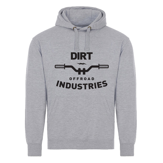 Mountain Bike Handlebars Hoodie - Dirt Industries - Motocross Offroad Casual Clothes