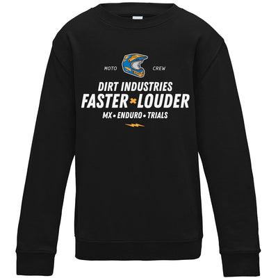 Louder x Faster Sweatshirt - Youth - Dirt Industries