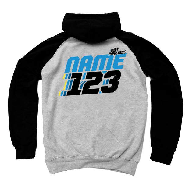 Dirt iD - Custom Motion Hoodie - Dirt Industries - Motocross Offroad Casual Clothes