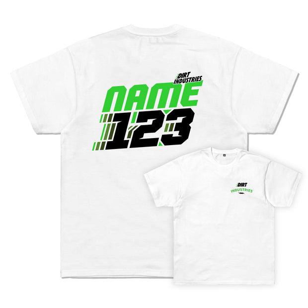 DIRT ID - Custom Motion Tee - Dirt Industries - Motocross Offroad Casual Clothes
