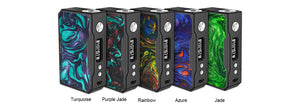 VOOPOO Drag 157W Box Mod Black Resin Version Purple Jade
