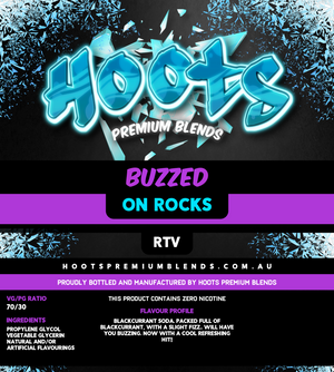 Hoots Premium Blends - Buzzed On Rocks
