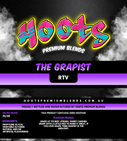 Image of Hoots Premium Blends - The Grapist