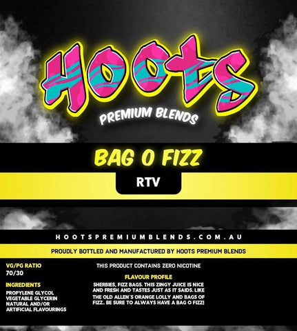 Hoots Premium Blends - Bag O Fizz