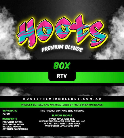 Image of Hoots Premium Blends - Box