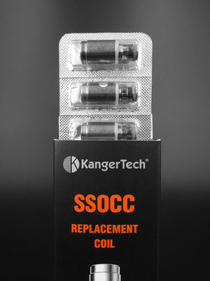 KangerTech 5pc Upgraded SSOCC Nichrome Coils - Vape Breaks