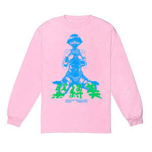 BDSM PINK LONG SLEEVE - ABSÜRE CLOTHING
