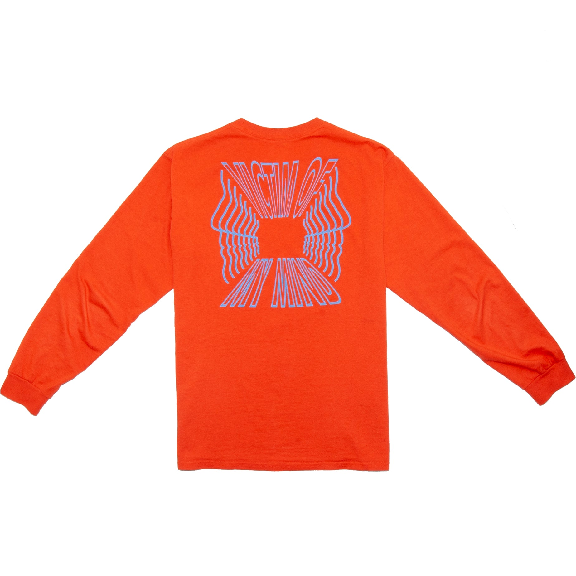 VICTIM OF MY MIND ORANGE LONG SLEEVE - ABSÜRE CLOTHING