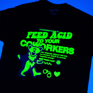 NEGATIVE COWORKERS UV REACTIVE T-SHIRT - ABSÜRE CLOTHING