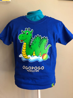 Royal Blue Ogopogo T-Shirt - Penticton Visitor Centre