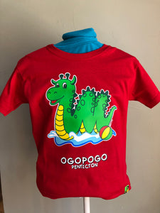 Red Ogopogo T-Shirt - Penticton Visitor Centre