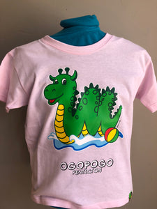 Light Pink Ogopogo T-Shirt - Penticton Visitor Centre