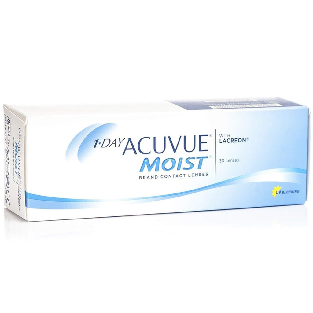 1 Day Acuvue Moist (30 Lentes de Contacto) - Lentematic.com
