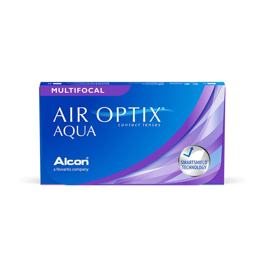 Air Optix Aqua Multifocal (6 Lentes de Contacto). Reemplazo mensual.