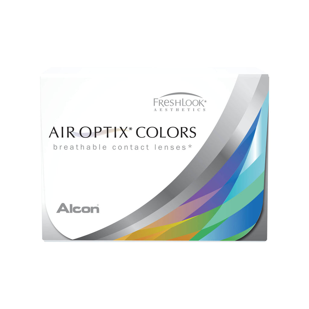 Air Optix Colors (2 lentes de contacto) de color graduados. Escoge entre los 9 colores. Compra en Lentematic tus pupilentes de color