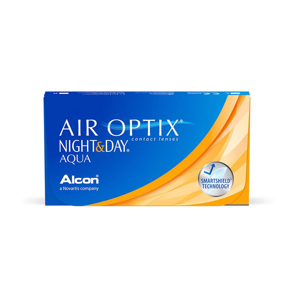 Air Optix Night and Day Aqua (6 Lentes de Contacto) - Lentematic.com