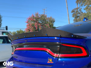 Dodge Charger Wicker Bill Carbon Fiber