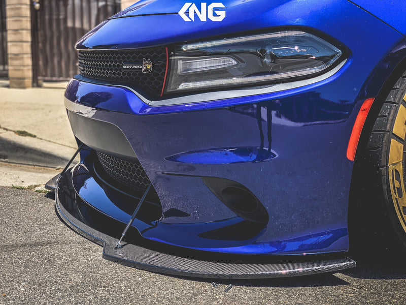 1. Dodge Charger Front Splitter: PRE-ORDER ONLY