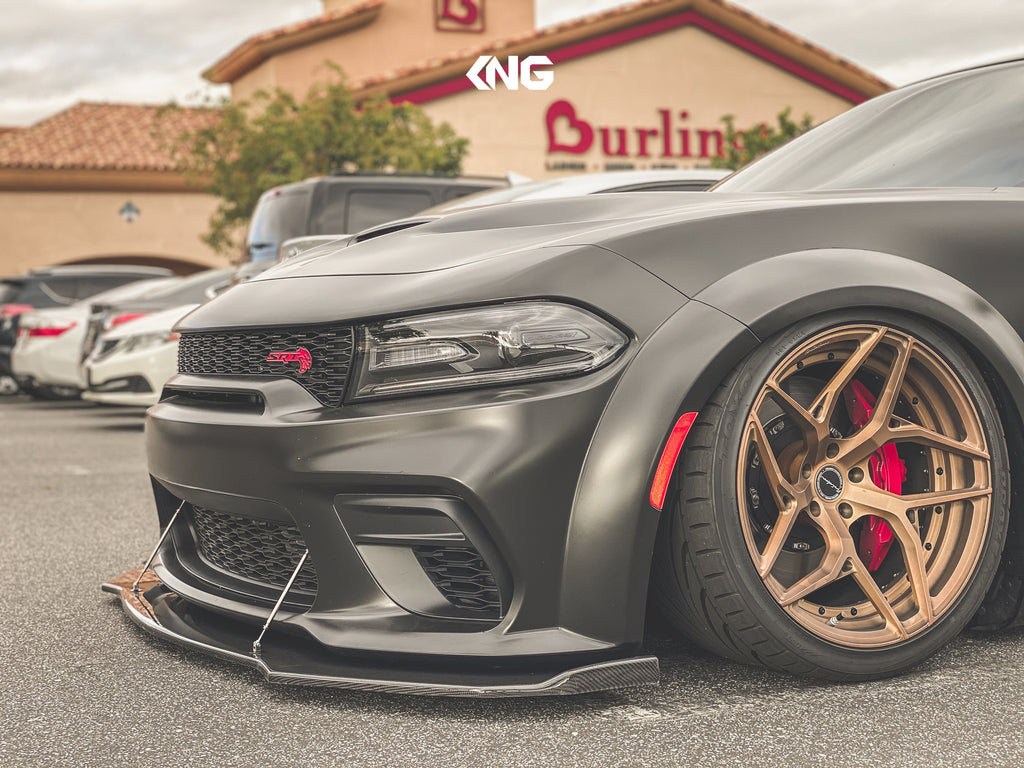 2020 Dodge Charger WideBody Carbon Fiber Splitter Winglet
