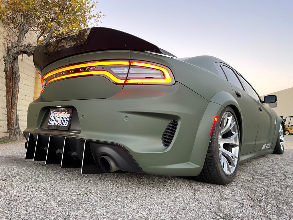 2020 Charger WideBody Straight Design V2 Diffuser