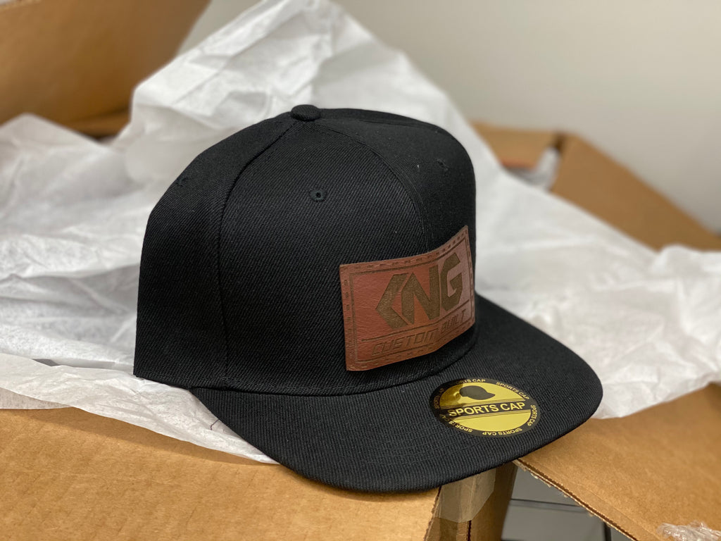 KNG - Custom Built SnapBack Hats (2 color ways)