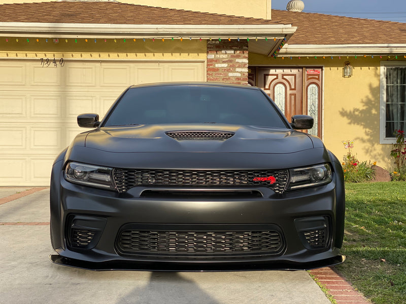 2020 Charger Wide Body Rodless Front Splitter