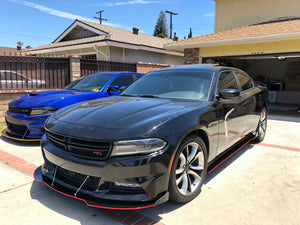 2015-19 Dodge Charger SXT- RT Splitters