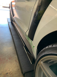 2015+ Mustang Side Skirts 180 Style Skirts