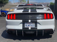 2015-17 Mustang V2 3 Piece Diffuser HoneyComb Design