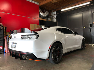 2016+ Chevy Camaro Rear Spat (Flat END Piece ONLY)