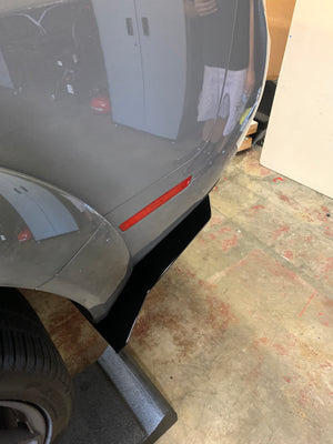 2019+ WIDEBODY Challenger Rear Spats V2 *CUSTOM CUT DESIGN* (Hellcat,Redeye,Demon and Scatpack)