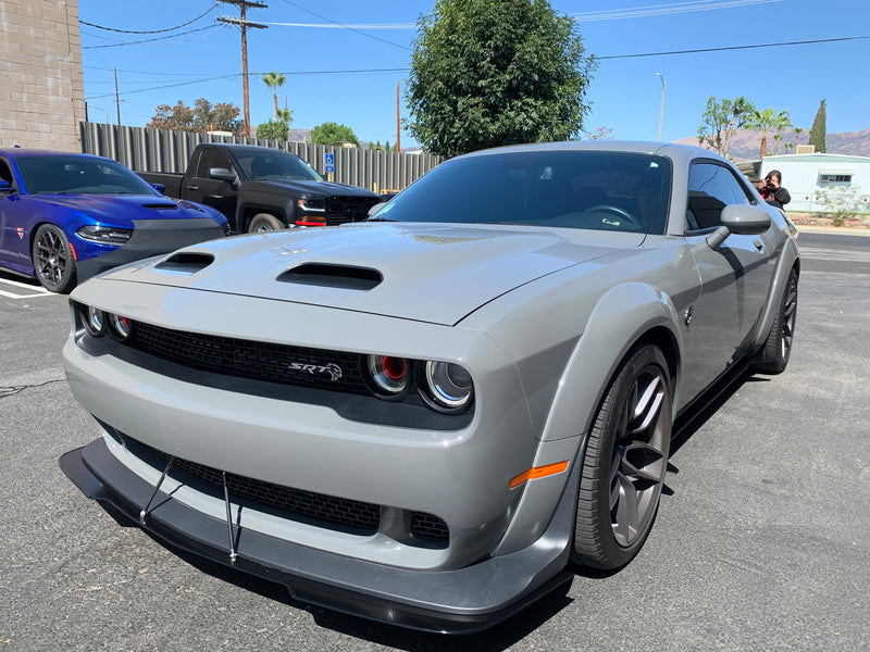 2019+ WIDEBODY Challenger Side Skirts V2 *CUSTOM CUT DESIGN* (Hellcat,Redeye,Demon and Scatpack)