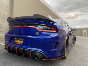2015+ Charger SP-SRT Hellcat Honey Comb Design V2 Diffuser