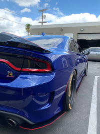 2015+ Charger SP-SRT Hellcat Honey Comb Design Spats