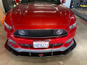 2015-17 Ford Mustang GT 5.0 Performance Package Front Splitter