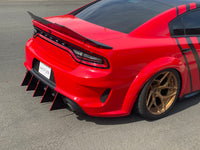 2020 Charger WideBody Slant-Out Design V2 Diffuser