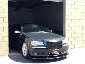 2010-2014 Chrysler 300 Reg Design Front Splitter V1-V2