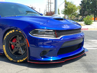 2015+ Charger SP-SRT Hellcat Honey Comb Design Splitter