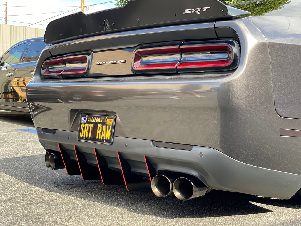 2015+ All Model Challenger V2 Diffuser Slant-In