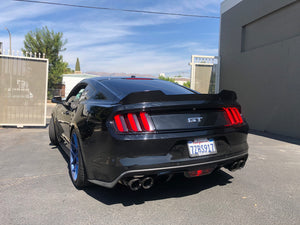 2015+ Ford Mustang Small Spoiler Wicker Bill with/Out Glass
