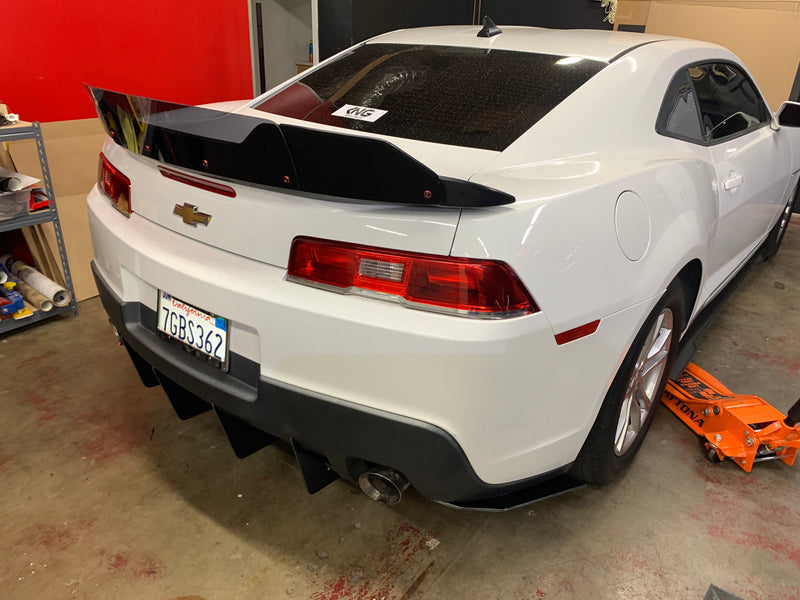 2014-2015 Chevy Camaro V2 Slant In Diffuser Middle Piece/3 Piece